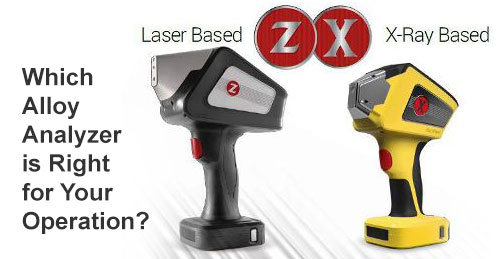 SciAps Laser Based and XRF Based Analyzers