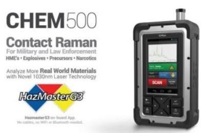 SciAps CHEM500 Raman Analyzer