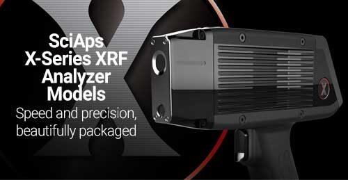 SciAps X-Series XRF Analyzer Models